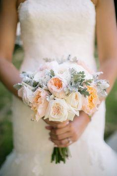 Juliette roses: http://www.stylemepretty.com/california-weddings/2015/01/22/elegant-garden-wedding-in-san-diego/ | Photography: Heidi-o-photo - heidiophoto.com