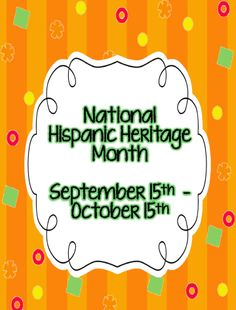 Hispanic Heritage Month - FREE lesson and link to FREE kindle download (for a short time)
