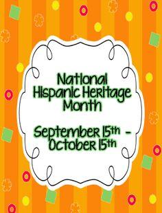 FREE Hispanic Heritage Month