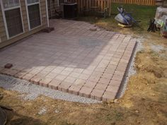 Simple patio designs with pavers cheap patio ideas backyard patio with cheap patio ideas patio designs unique patio designs patterns diy patio ideas with Landscaping Blocks, Small Backyard Landscaping, Backyard Patio, Backyard Ideas, Patio Ideas, Pavers Ideas, Landscaping Ideas, Garden Ideas, Small Patio Spaces