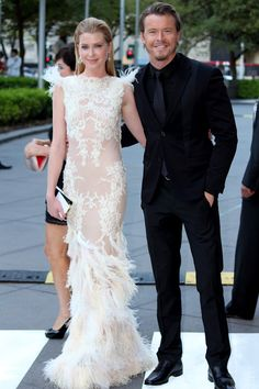 Love this dress by Project Runway Australia designer, Leah Da Gloria  (worn by Emma Booth at Logies)