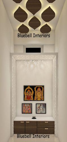 Pooja Room Design, Blue Bells, Pooja Rooms, Room Doors, Interiors, Interior Design, Elegant, Inspiration, Home Decor