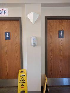 Restrooms at Vandenberg Air Force Base in CA.