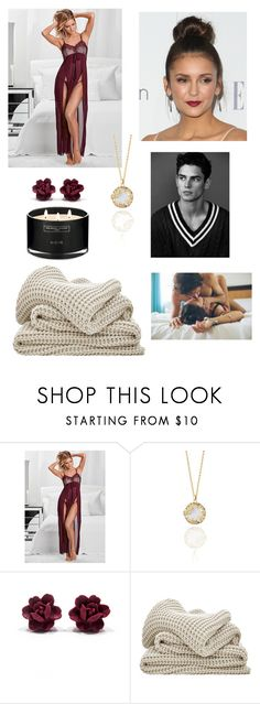"""Waiting for Him"" by izzie1800 ❤ liked on Polyvore featuring Kasun and The White Company"