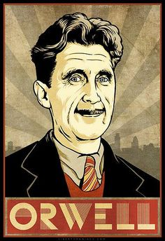 Doubleplusgood Birthday, Orwell. George Orwell was born June 25, 1903. Celebrate by reading his dystopian classic, Nineteen Eighty-Four. We promise we won't delete it from your #Cybook. ;)