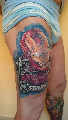 This Iron Man has been made during 3 sittings and about 11 hours all together.