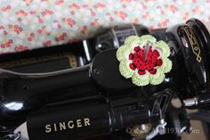 Spool Pin Doily (Set of 3)