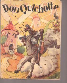Luc Pierre Pour Les Illustrations, Les Aventures De Don Quichotte De La Manche Adaptees Pour La Jeunesse de Cervantes