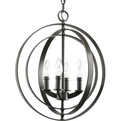 1STOPlightingPRO.com | Equinox - Four Light Sphere Foyer