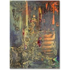Trademark Fine Art Into The Dark Canvas Art by Pat Saunders-White, Size: 18 x 24, Orange