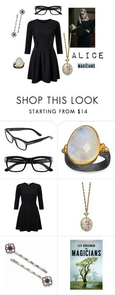 """""""The Magicians - Alice"""" by nbeaudry on Polyvore featuring Tom Ford, BillyTheTree, Miss Selfridge, 1928, Alice, themagicians and filloryisreal"""