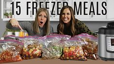 We LOVE Freezer meals in our family. These can work both in the Instant Pot and the Slow cooker! If you are a beginner or you have been cooking for awhile, t. Slow Cooker Freezer Meals, Make Ahead Freezer Meals, Crock Pot Freezer, Dump Meals, Freezer Cooking, Easy Cooking, Crockpot Meals, Crock Pots, Slow Cooking