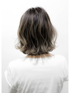 Tornado (Tornado) Foreigner-style dark hair highlight color ☆ Ash gurej ☆ Gray hair as well