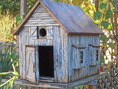 Old+Birdhouses   Old Barn Birdhouse   Flickr - Photo Sharing!