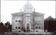 High school. built 1871 Lebanon, MO