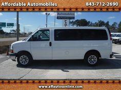 Used 2010 Chevrolet Express LT 1500 for Sale in Myrtle Beach SC 29577 Affordable…