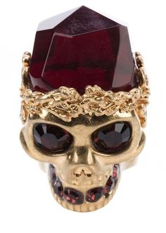 Alexander McQueen Skull Ring Im not big on rings.. This one is too bad ass to resist