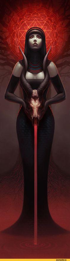 арт девушка,красивые картинки,art,Sorceress