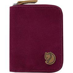 Fjallraven Zip Wallet Plum One Size Fjallraven…
