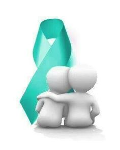 Ovarian Cancer Awareness ~ No One Fights Alone ~ # Ovarian Cancer Awareness #  Kat's Krusader's