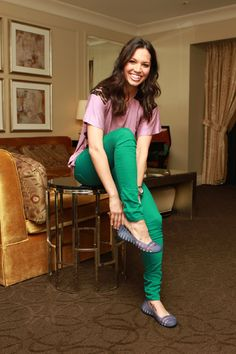 Melissa Rycroft shows off her new foot tattoo!