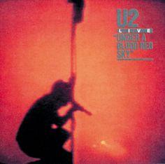 U2 - Under a Blood Red Sky (21 nov., 1983) http://www.u2.com/ #u2newsactualite #u2newsactualitepinterest #u2 #bono #theedge #adamclayton #larrymullen #music #rock #underabloodredsky