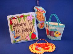 Summer Fun needlepoint