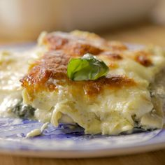 White Spinach-Artichoke Lasagna By Ree Drummond
