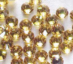 Lt. Topaz 16ss Swarovksi Elements Rhinestones by RhinestonesEtc, $7.50