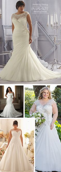 Want a plus size wedding dress that is beautiful and affordable? Dressilyme has stunning plus size wedding gowns that come in a variety of sizes & full figured styles for an affordable price.
