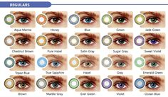 best colored contacts for dark brown eyes - Google Search