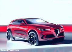 Alfa Romeo Stelvio Quadrifoglio 2018 poster, #poster, #mousepad