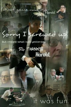 """Not a collage person, but I like this one - and I loved the episode. Plus, the music was """"Gimme Shelter"""" RS Harold Finch, Jack Dawson, John Reese, Cop Show, American Series, Jim Caviezel, Person Of Interest, Screwed Up, Me Tv"""