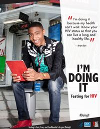 #DoingIt. HIV testing should be a part of everyone's regular health routine to keep ourselves and our community healthy.