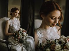 Bride Portrait Inspiration, Bride holding bouquet, Myrtle and Moss Photography Award Winning Photography, Victoria Wedding, Wedding Bouquets, Wedding Dresses, Bride Portrait, Maternity Photographer, Portrait Inspiration, Myrtle, Wedding Photography