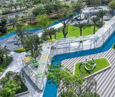 Public Architecture, Pavilion Architecture, Architecture Collage, Landscape Architecture Design, Space Architecture, Park Landscape, Urban Landscape, Trees Top View, Urban Design Concept