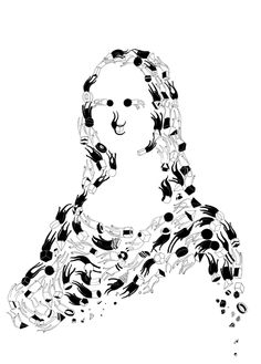La Gioconda by Justas Cekauskas Mona Lisa, Famous Words, Astronomy, Contemporary Art, Disney Characters, Fictional Characters, Aurora Sleeping Beauty, History, Portrait