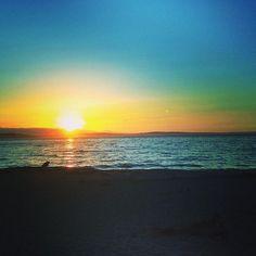 Tonight was a beauty. #westseattle #sunset