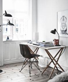 Cadeiras Eames: um clássico do design para você ter no home office.