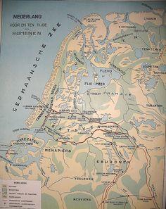Nederland voor en tijdens de Romeinen
