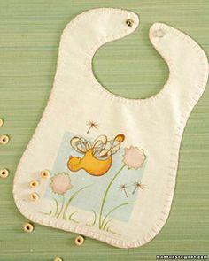 Martha Stewart Baby Bibs Template