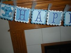 Blues clues bday banner