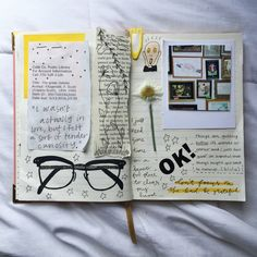 fyeah journalss ♥ - florallpeach:   finally sat down and journaled and...