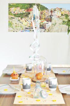 Modern Nordic Interior Decoration Birthday Party Dining Room
