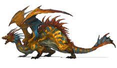 Dragon from Final Fantasy XIV: A Realm Reborn