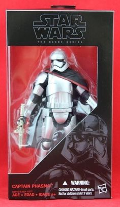 "Captain Phasma Star Wars the Black Series 6"" Action Figure Hasbro Disney Toy New #Hasbro"