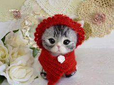 実夢工房のちびっこ・まるっこ♪のちび猫ちゃん♪ クリスマス♪ | ハンドメイド、手作り作品の通販・販売 minne(ミンネ)