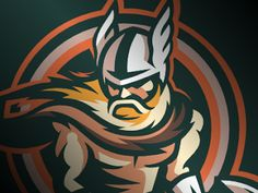 Viking American #Logo Sport Theme