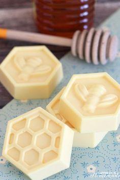 10-Minute DIY Milk & Honey Soap
