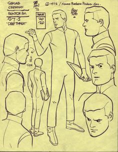 ALEX TOTH SEALAB 2020 , in Paolo Giovenale's TOTH MODEL Comic Art Gallery Room - 130409